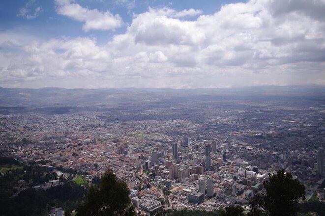 Bogotá, la capital de Colombia, en pleno crecimiento. © Jean-Baptiste Mouttet