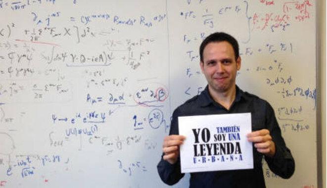 El físico Iván Agulló, en la Universidad de Luisiana. © AACTE