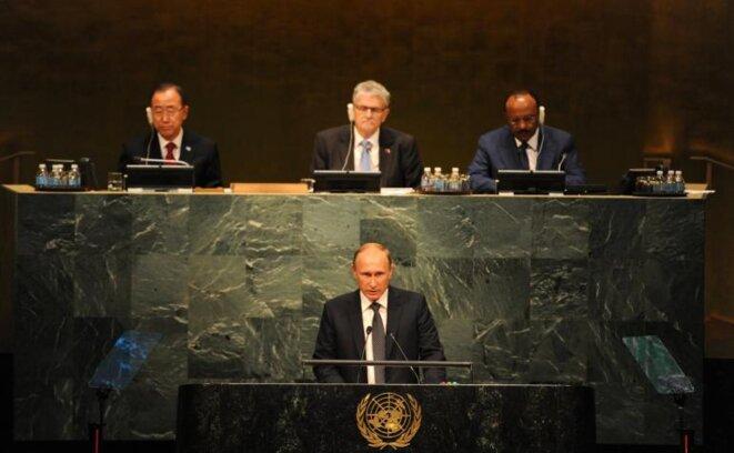 Putin el 28 de septiembre en la Asamblea General de la ONU. © Reuters