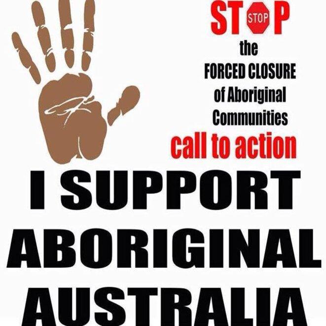 Journée de soutien aux Aborigènes d'Australie