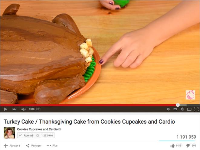 Ceci est un gâteau.