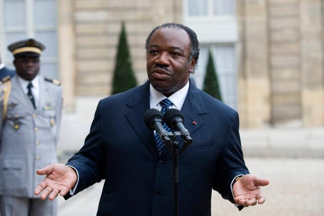 Ali Bongo, en novembre 2009, à l'Elysée.