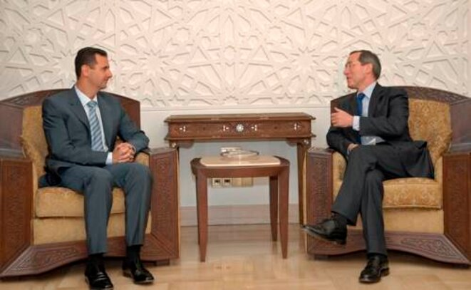 MM. Assad et Guéant