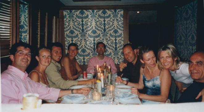 M. Duhamel, au fond. MM. Gaubert et Takieddine à droite de l'image.