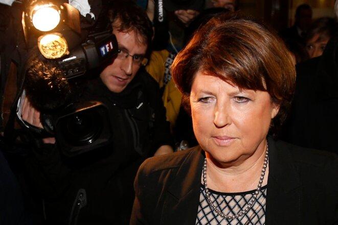 Martine Aubry, ancienne ministre socialiste et maire de Lille.  © Reuters