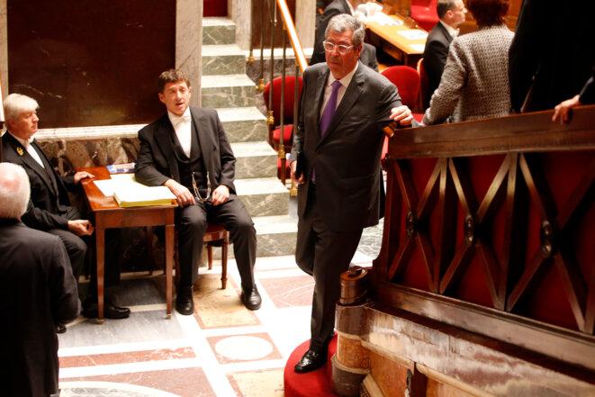 Patrick Balkany, le 28 octobre 2015 à l'Assemblée nationale © Reuters