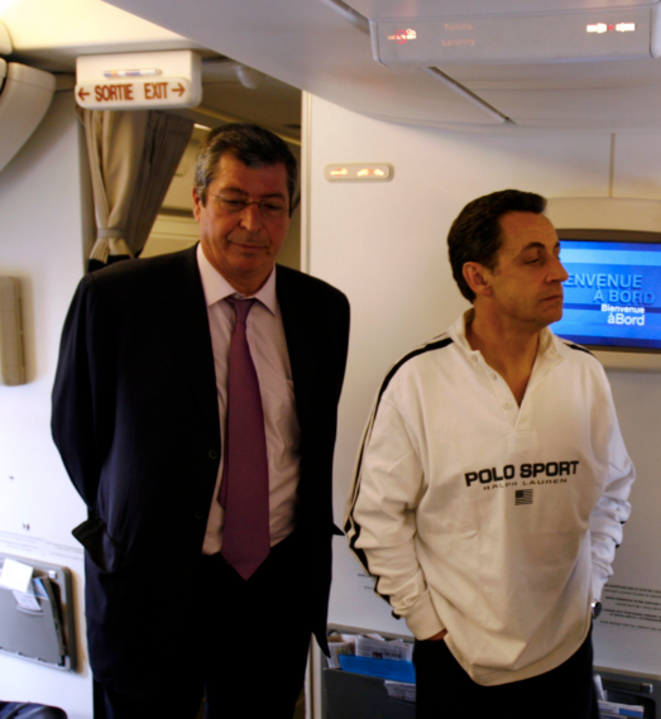 MM. Balkany et Sarkozy