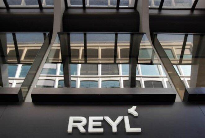 Siège de la banque Reyl, en Suisse. © Reuters