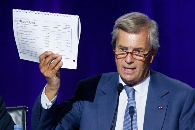 Vincent Bolloré, en avril 2015, un mois avant la censure...
