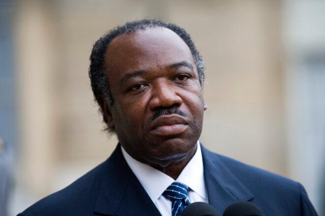 Ali Bongo, le 20 novembre 2009 à l'Elysée.