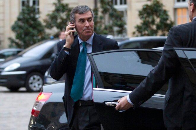 Jérôme Cahuzac, mecredi 5 décembre.  © Reuters