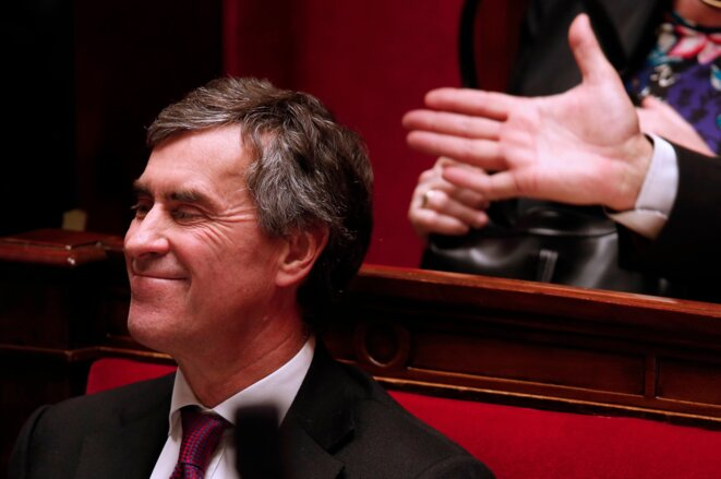 Jérôme Cahuzac at the National Assembly.