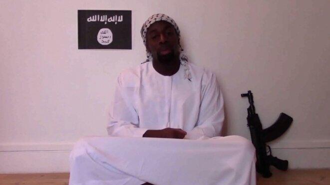 Vidéo posthume d'Amedy Coulibaly revendiquant son attaque. © DR