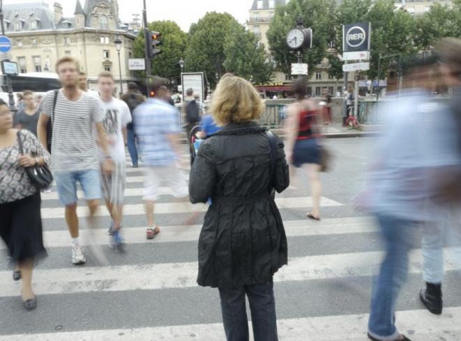 Nicole Marie Meyer, ancienne fonctionnaire de Quai d'Orsay, travail aujourd'hui pour l'ONG Transparency International.  © JC