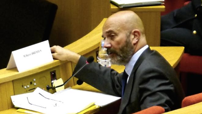 Hervé Dreyfus au Sénat, le 11 septembre 2013.  © Dan Israël
