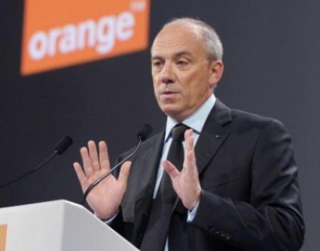 Stéphane Richard, le président d'Orange.