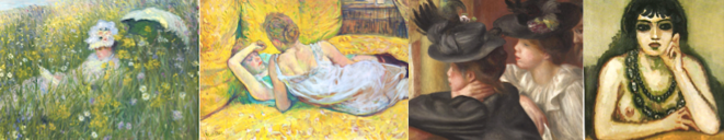 Renoir, Degas, Matisse, Monet, Toulouse Lautrec... Les grands noms de la collection Obiang.