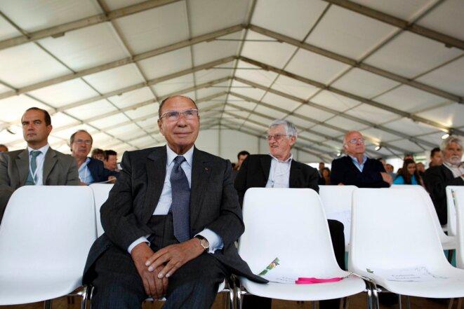 Serge Dassault a admis avoir acheté l'élection municipale de 2010 dans un enregistrement réalisé en novembre 2012.  © Reuters