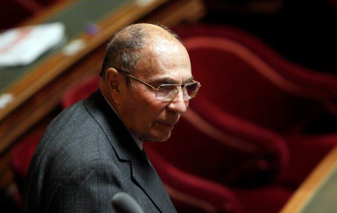 Serge Dassault, au Sénat, le 28 octobre 2010. © Reuters