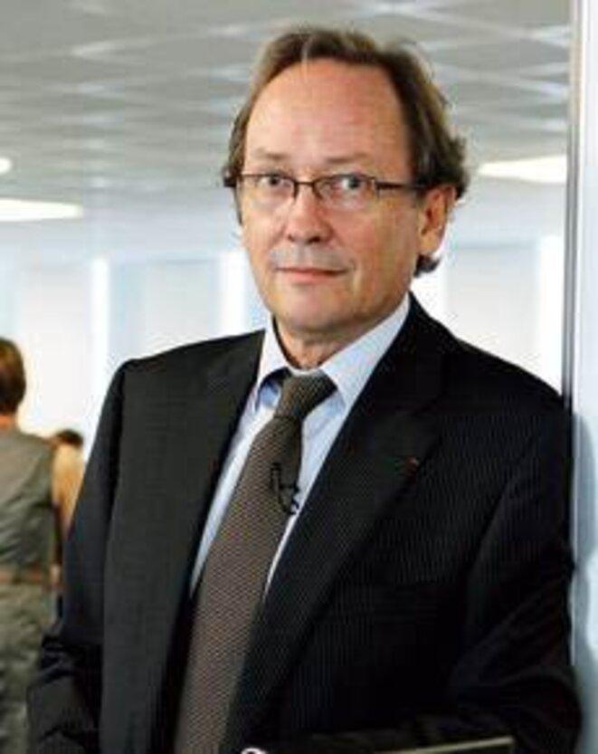 Le préfet Jean-Jacques Debacq, directeur de l'Antai, au ministère de l'intérieur