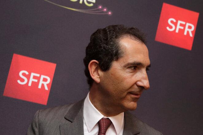 Patrick Drahi, le 7 avril 2014