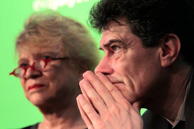 Pascal Durand, secrétaire national d'Europe Ecologie Les Verts. © Reuters