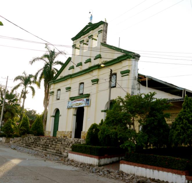 L'église du village de Nilo © Mediapart