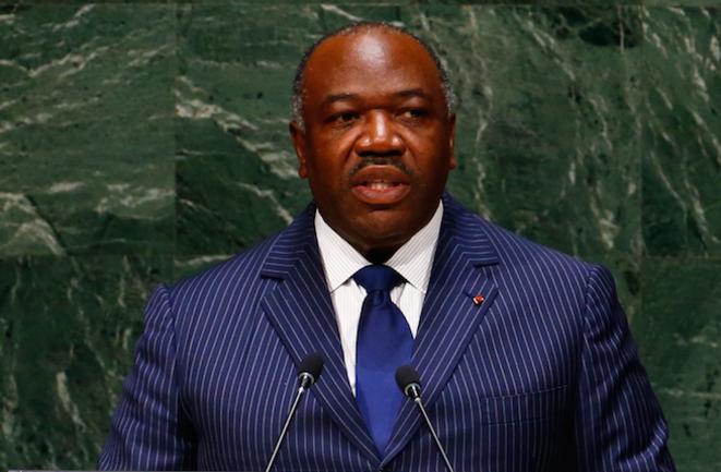 Ali Bongo, le 25 septembre 2014, à l'ONU.