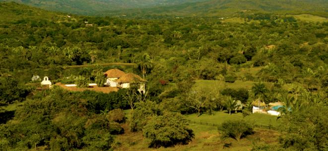 La demeure colombienne de T. Gaubert