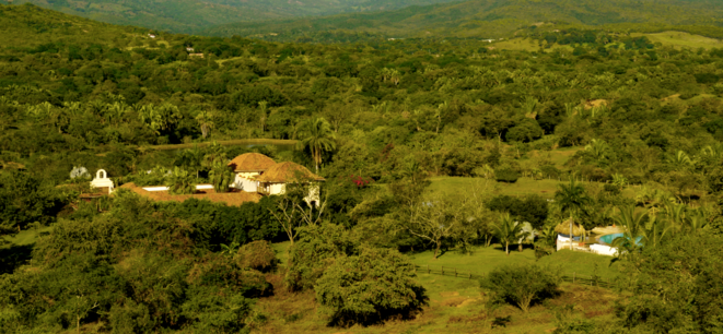 La demeure colombienne de T. Gaubert © Mediapart