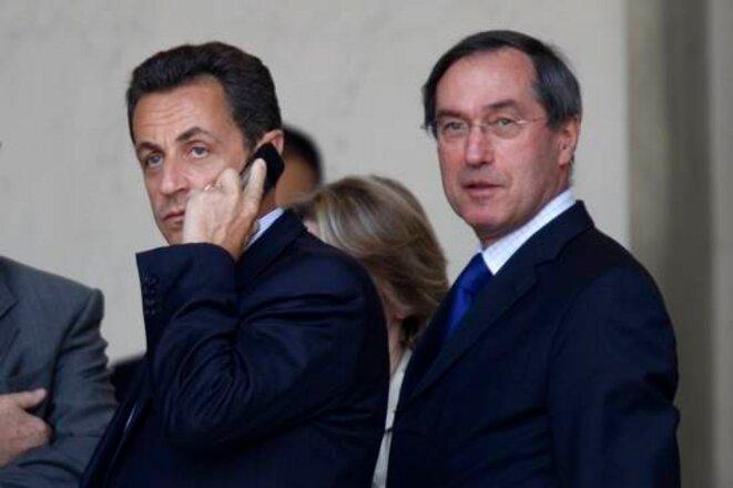 MM. Sarkozy et Guéant © Reuters