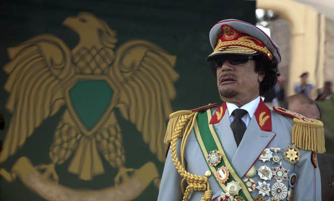 The SocGen operation involved officials of the regime of late Libyan dictator Muammar Gaddafi. © Reuters.