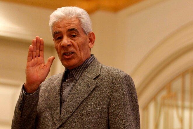 Moussa Koussa, l'ancien chef des services secrets extérieurs de Kadhafi.
