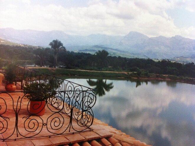 Un lac privé pour les Gaubert © dr