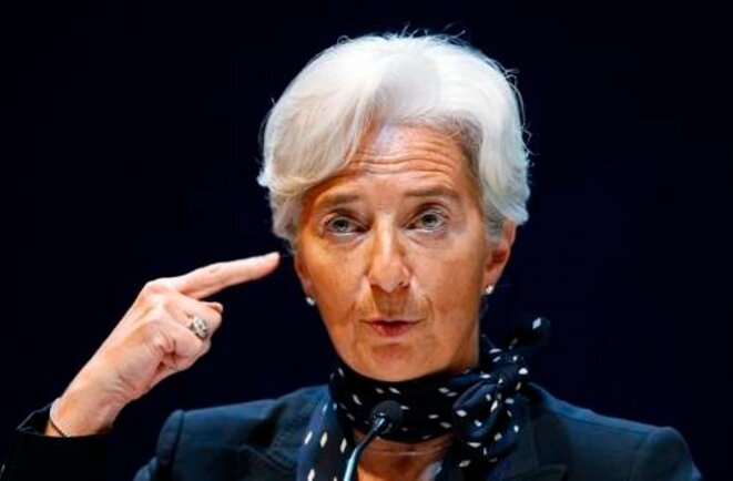 C. Lagarde © (Reuters)