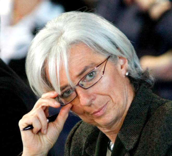 Christine Lagarde, la ministre qui voulait un « guide ».  © Reuters