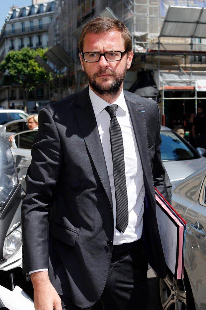Jérôme Lavrilleux, bras droit de Copé et directeur adjoint de campagne de Sarkozy.  © Reuters