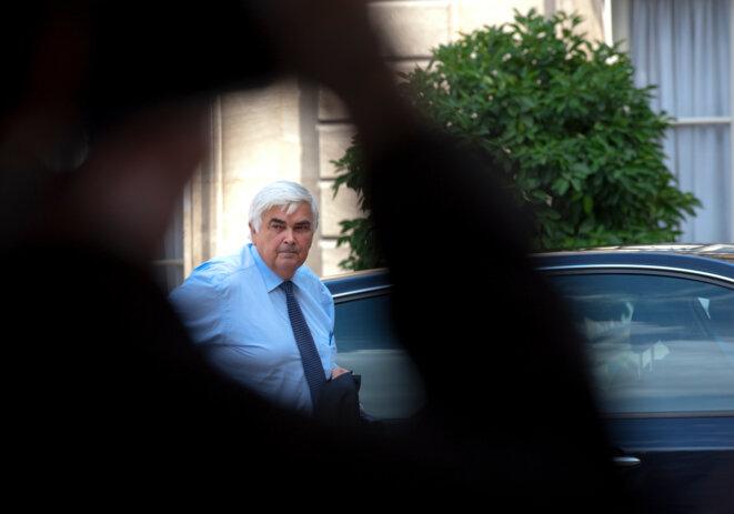 Michel Lucas, patron du Crédit mutuel et partenaire financier de Bolloré