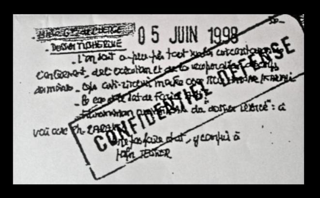 Note du 5 juin 1998