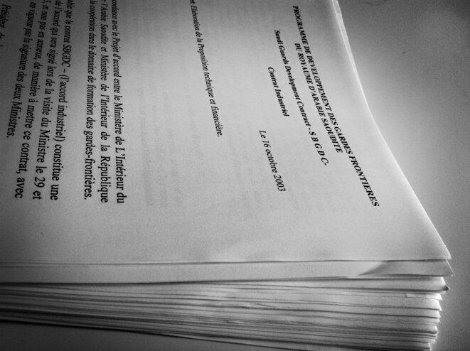 Les notes Takieddine sur le contrat Miksa