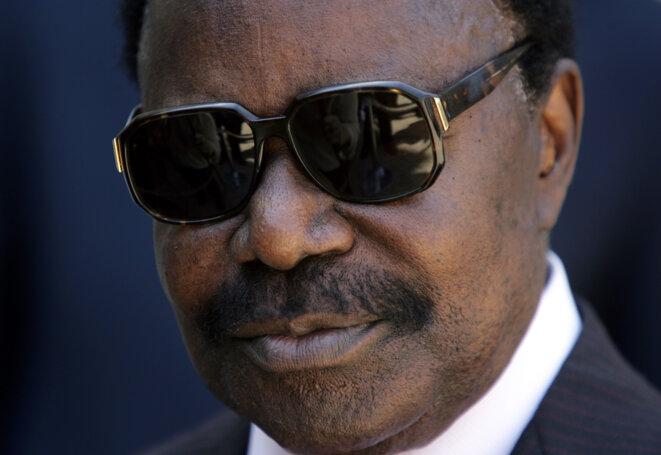 Omar Bongo, ancien président du Gabon décédé en 2009. © Reuters