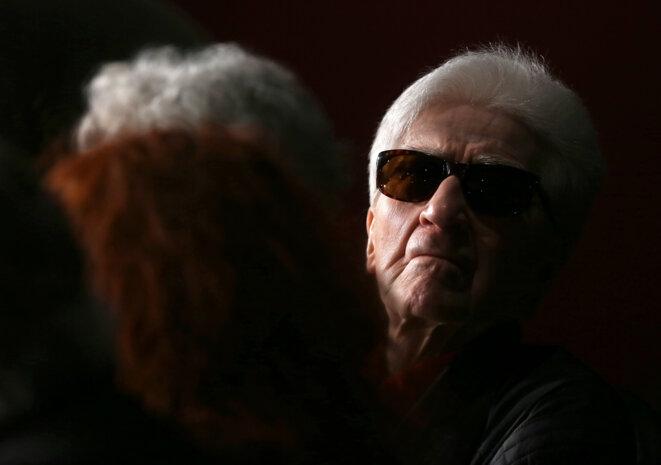 Alain Resnais, en mai 2012, à Cannes.  © Reuters