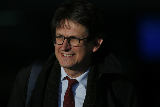 Alan Rusbridger, le rédacteur en chef du Guardian. © Reuters