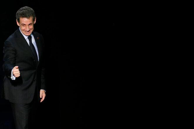Nicolas Sarkozy, le 16 mars 2015.  © Reuters