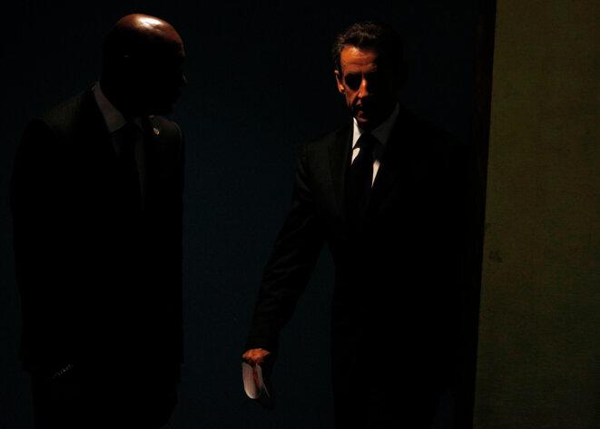 Sarkozy à l'ONU, en septembre 2011 © Reuters