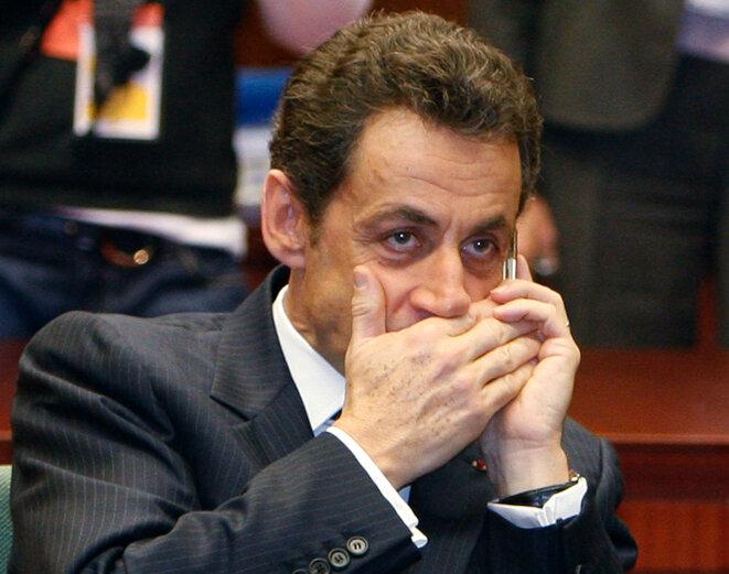"""Nicolas Sarkozy, alias """"Paul Bismuth"""". © Reuters"""
