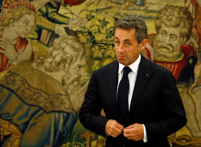 Nicolas Sarkozy, en mai 2014.  © Reuters