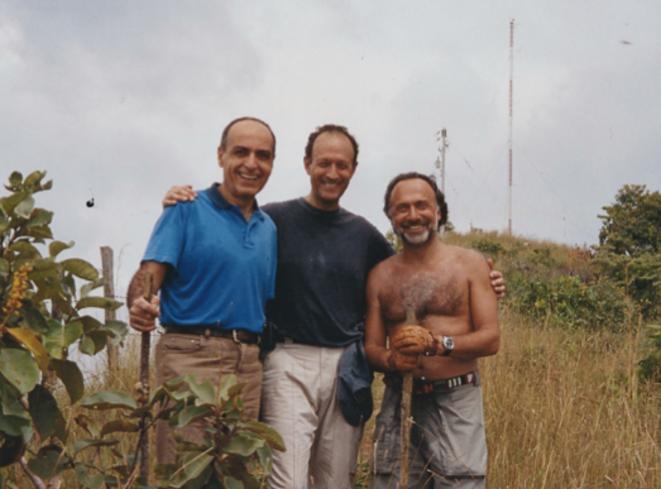 MM. Takieddine, Gaubert et Dassault.