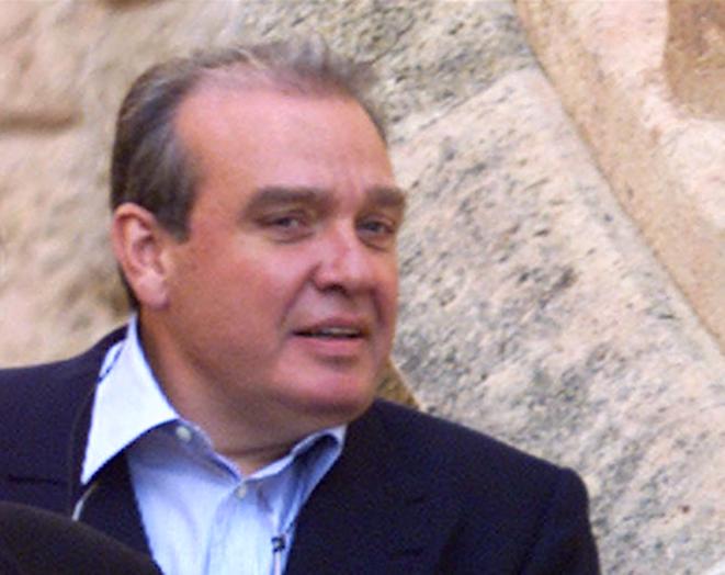 """Michel Tomi, surnommé le """"parrain des parrains""""."""