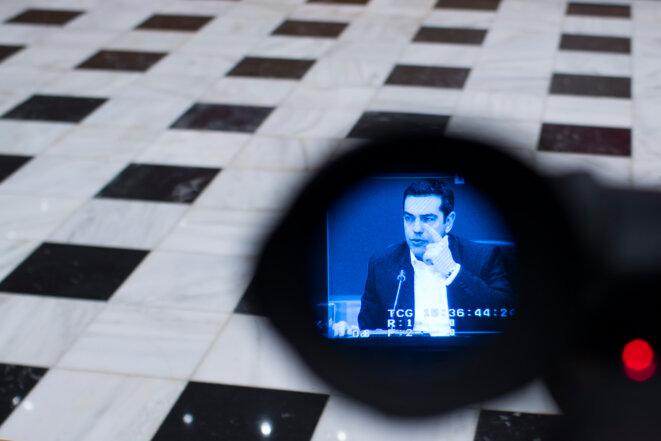 Alexis Tsipras, le leader de Syriza. © Reuters